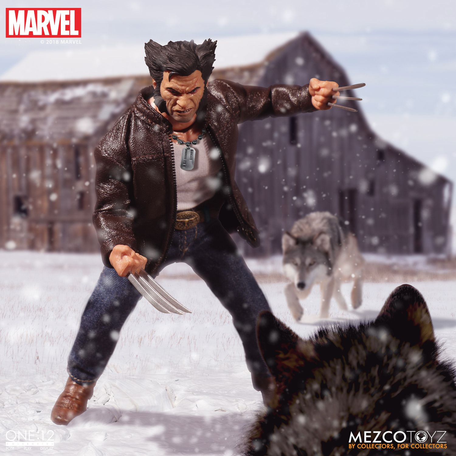 Фигурка Логан «One:12 Collective» от Mezco