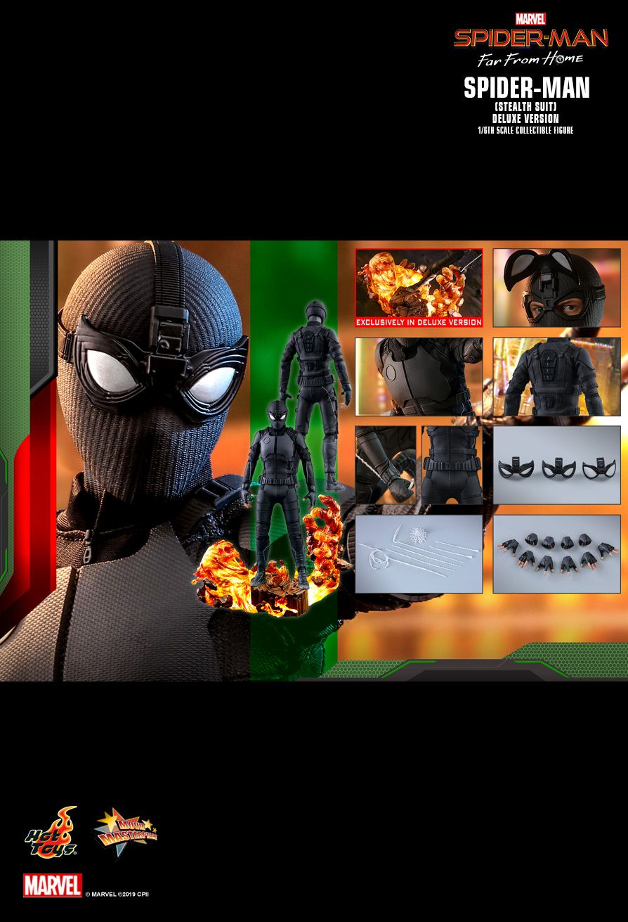 "Фигурка Спайдермен ""Stealth Suit"" Deluxe от Hot Toys"