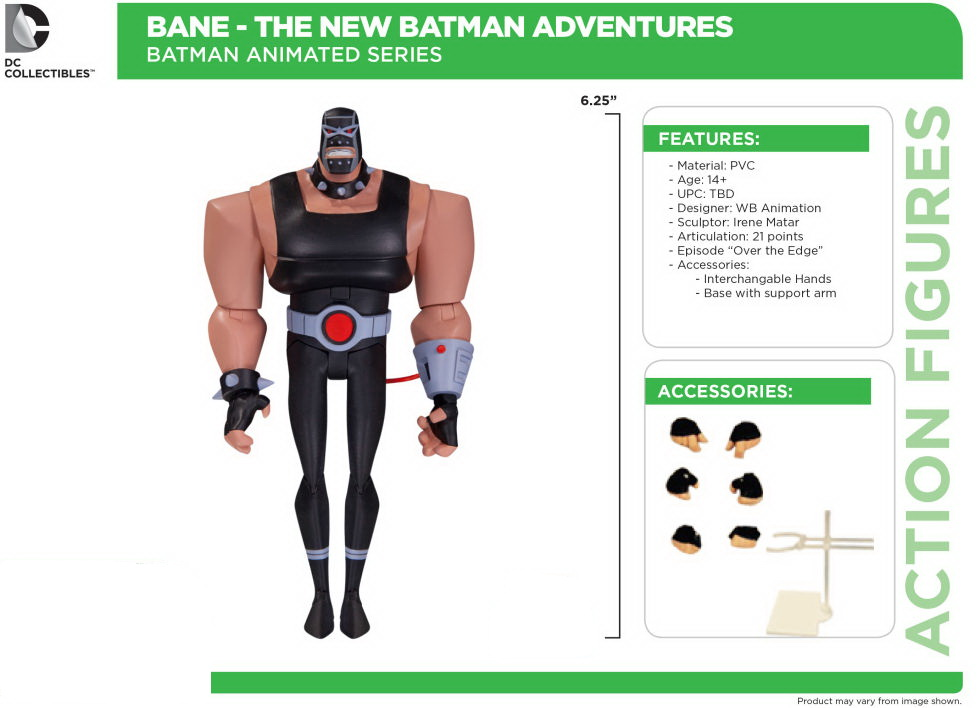 "Фигурка Бэйн ""Batman The Animated Series"" от DC Collectibles"