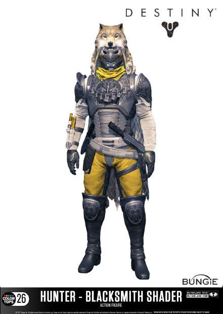 Фигурка Хантера — McFarlane Toys Destiny Color Tops Hunter Blacksmith