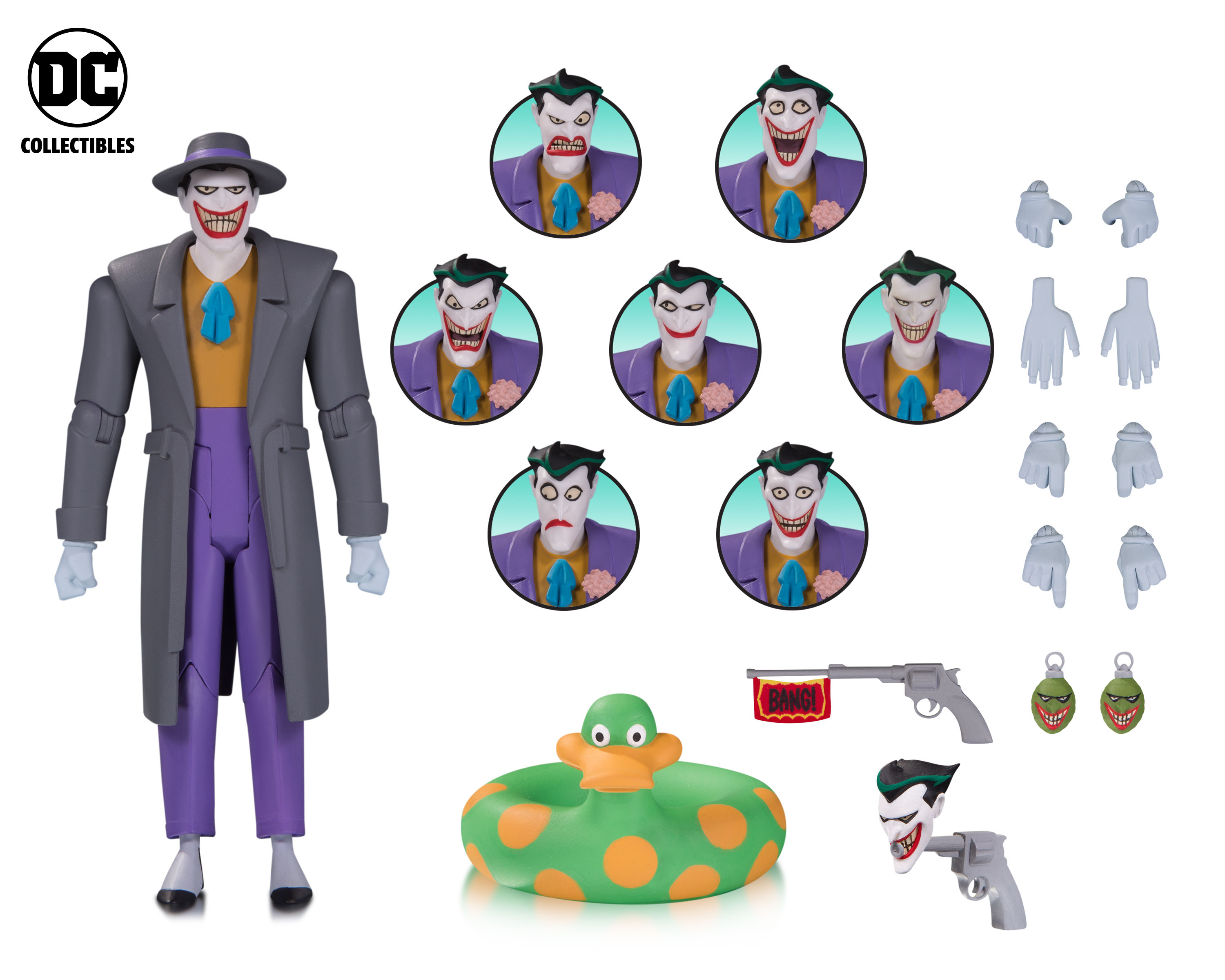 "Фигурка Джокер ""Expressions Pack"" от DC Collectibles"