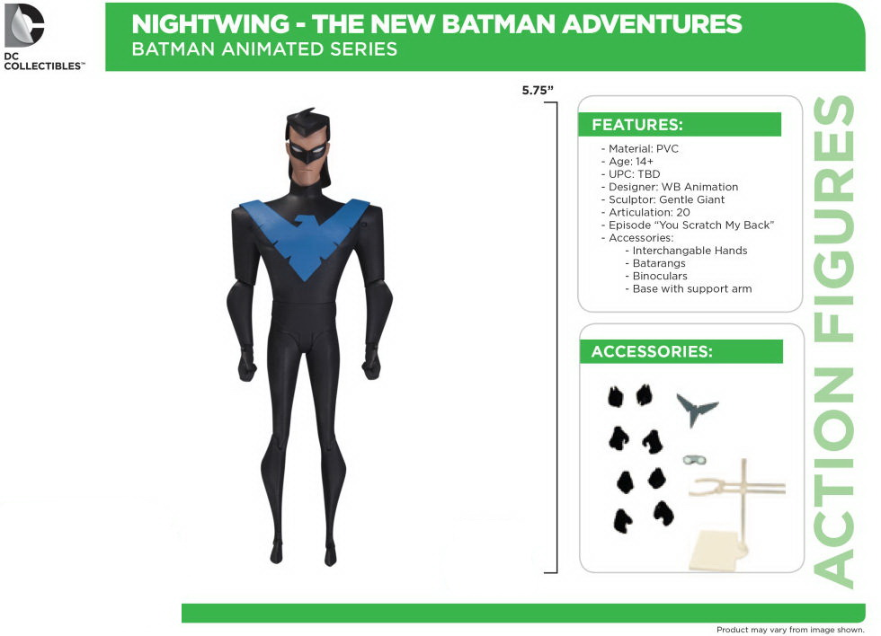 "Фигурка Найтвинг ""Batman The Animated Series"" от DC Collectibles"