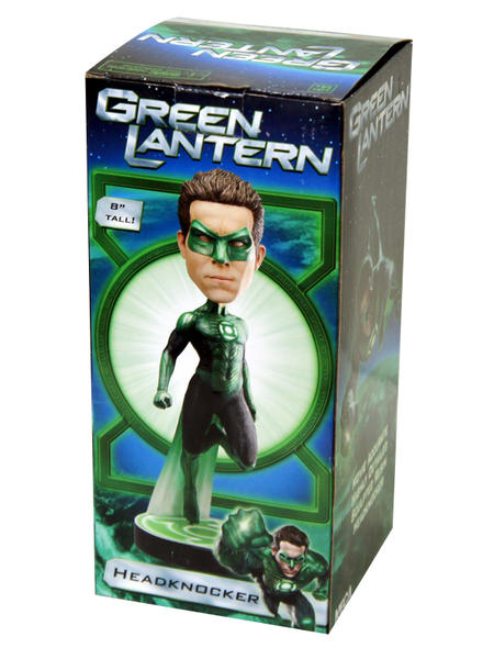 Башкотряс Зеленый Фонарь Neca Green Lantern Movie Hal Jordan Head Knocker