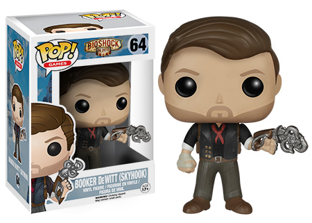 Фигурка Букера де Витта — Funko BioShock POP! Games Booker DeWitt