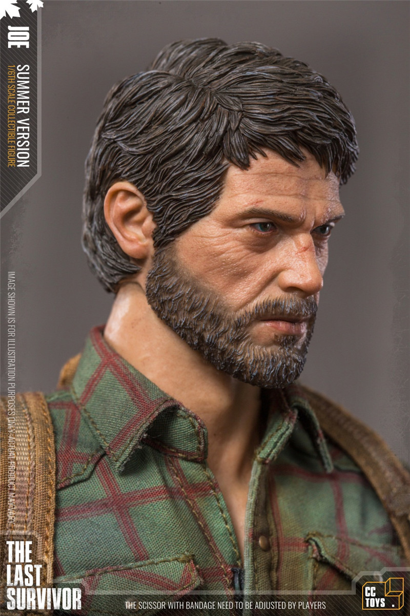 "Фигурка Джоэл ""The Last of Us"" от CC Toys"