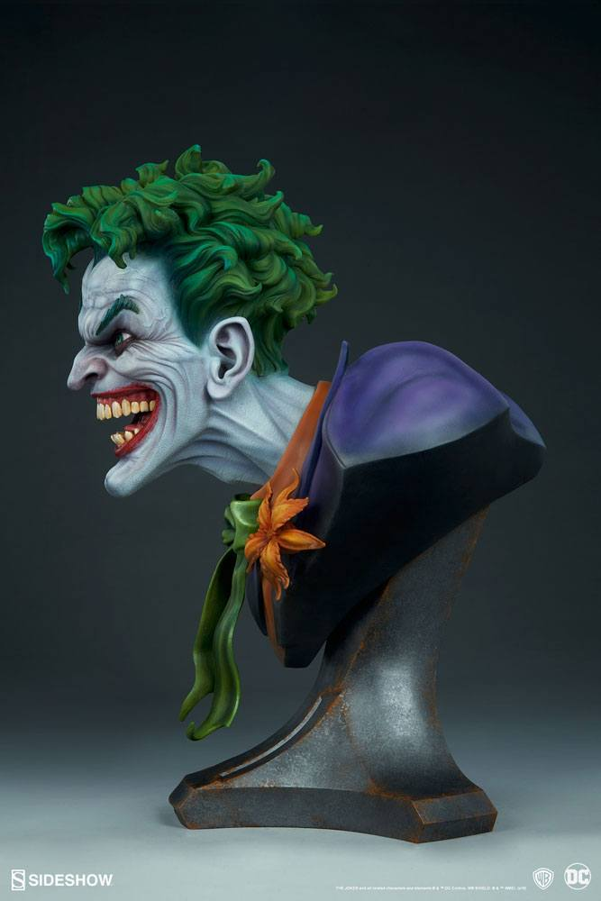 Бюст Джокер — Sideshow DC Comics Bust The Joker (2).jpg