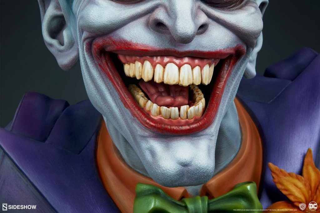 Бюст Джокер — Sideshow DC Comics Bust The Joker (10).jpg