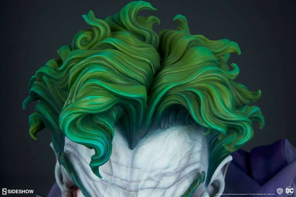 Бюст Джокер — Sideshow DC Comics Bust The Joker (9).jpg