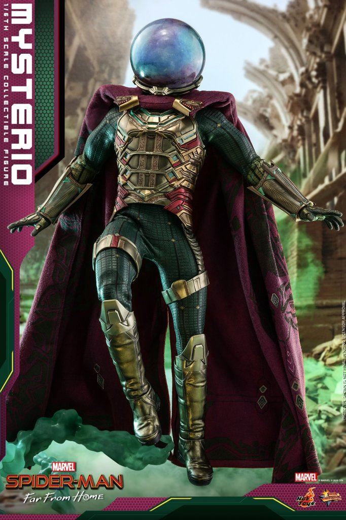 Фигурка Мистерио Hot Toys MMS556 Spider-Man Far From Home – Mysterio Scale Figure (2).jpg