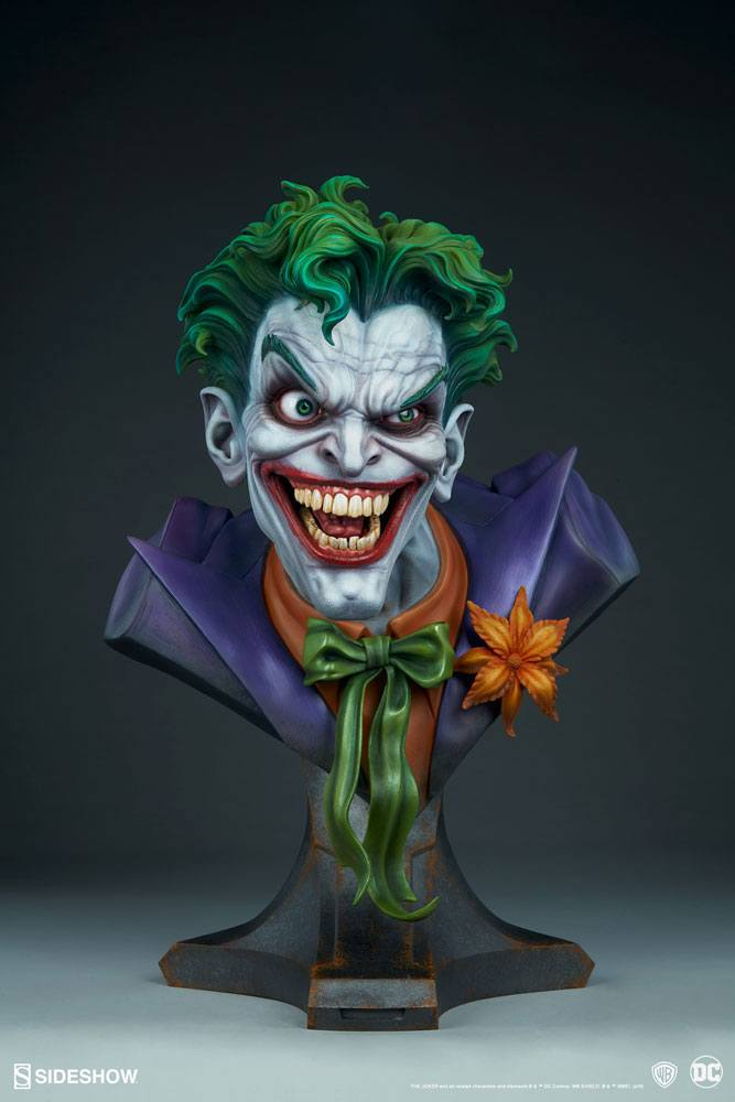 Бюст Джокер — Sideshow DC Comics Bust The Joker (7).jpg