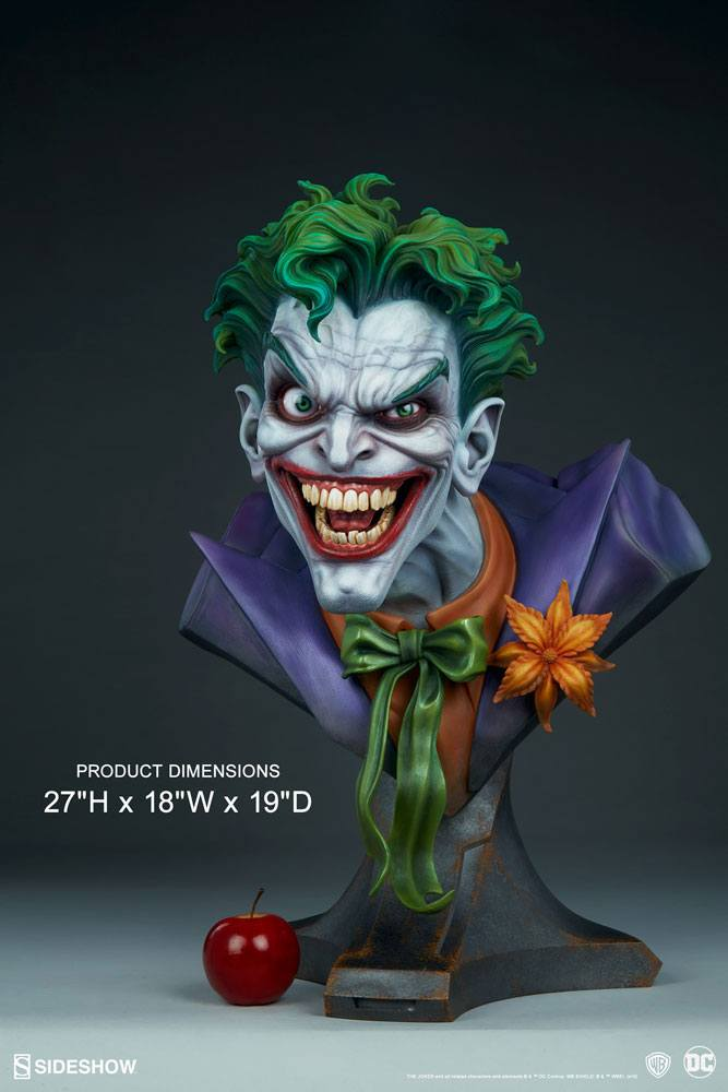 Бюст Джокер — Sideshow DC Comics Bust The Joker (1).jpg