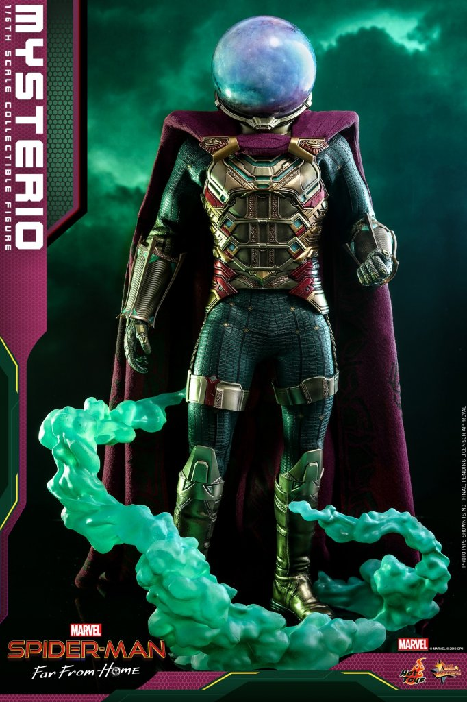 Фигурка Мистерио Hot Toys MMS556 Spider-Man Far From Home – Mysterio Scale Figure (15).jpg