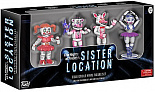 Фигурки Five Nights at Freddys 4-Pack Sister Location