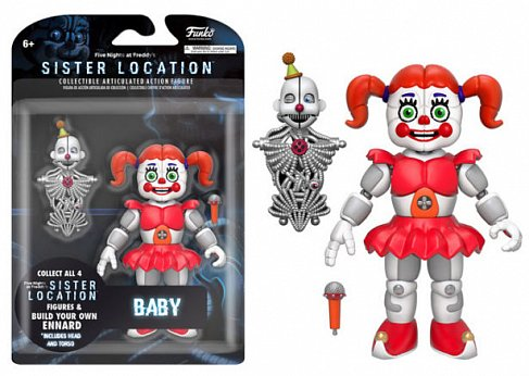 Фигурка Бэйби — Funko Five Nights at Freddys Baby Sister Location