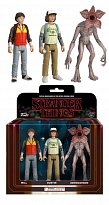 Набор фигурок Странные дела — Funko Stranger Things ReAction 3-Pack Dustin Will Demogorgon