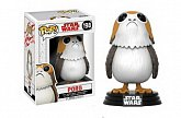 Фигурка Порга — Funko POP! Star Wars Bobble-Head Porg