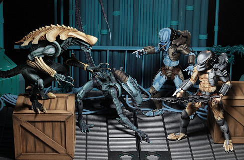 Фигурка Хищника — Neca Alien vs Predator Arcade Mad