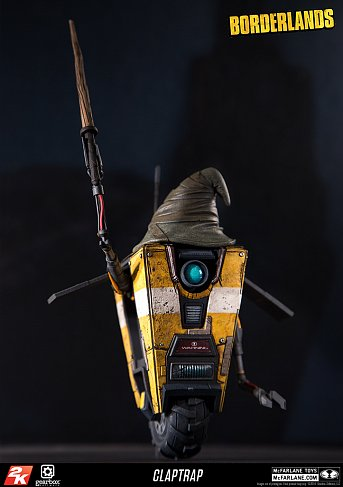 Фигурка Клэптрепа — McFarlane Toys Borderlands Color Tops Claptrap