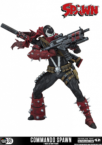 Фигурка Спауна — McFarlane Toys Color Tops Commando Spawn