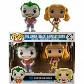 Фигурки Джокера и Харли — Funko DC Comics POP! 2-Pack Beach Joker Harley
