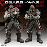 Фигурки Локустов — Neca Gears of War  Locust Drone and Locust Sniper 2 Pack Exclusive