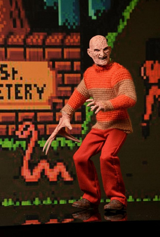 Фигурка Фредди Крюгера — Neca Nightmare on Elm Street Classic Video Game Retro Freddy