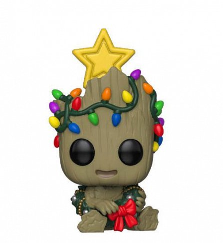 Фигурка Грута — Funko Marvel Holiday POP! Groot