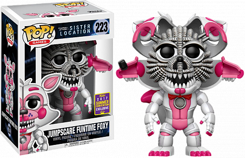Фигурка Фокси — Funko POP! Five Nights at Freddys Jumpscare Foxy Exclusive