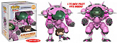 Фигурки ДиВА и Мека — Funko Overwatch POP! D.VA Meka