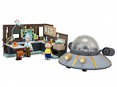 Конструктор Рик и Морти — McFarlane Toys Rick and Morty Construction Set Spaceship Garage