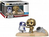 Фигурки C3PO и R2D2 — Funko Star Wars POP! Movie Moments 2-Pack Escape Pod Landing