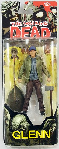 Фигурка Гленна — McFarlane Toys The Walking Dead Comic Book Series 5 Glenn