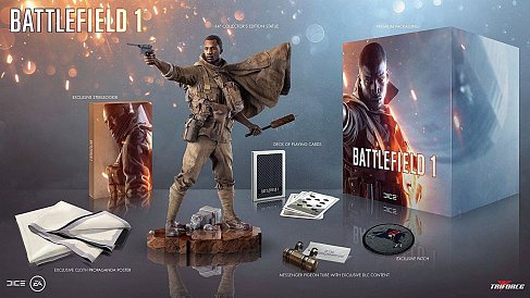 Фигурка Battlefield 1 — Triforce Battlefield 1 Collectors Set