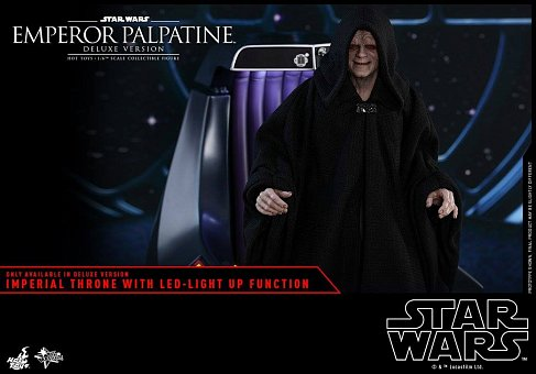 Фигурка Палпатина — Hot Toys Star Wars Episode VI 1/6 Emperor Palpatine Deluxe
