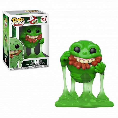 Фигурка Лизун — Funko POP! Ghostbusters Slimer w Hot Dogs Exc