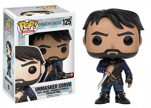 Фигурка Корво — Funko POP! Dishonored Corvo Unmasked