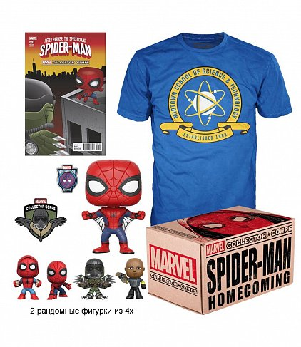 Набор Marvel Collector Corps Box — Funko Spider-Man Homecoming