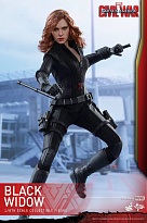 Фигурка Черной Вдовы — Hot Toys Captain America Civil War 1/6 Black Widow