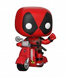 Фигурка Дэдпула — Funko Deadpool POP! Rides Scooter