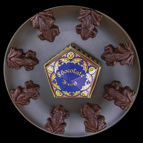 Формочка для шоколада — Noble Collection Harry Potter Chocolate Frog Mold