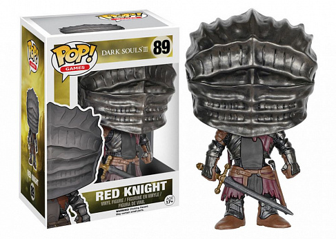 Фигурка Красного Рыцаря — Dark Souls III Funko POP! Games Vinyl Red Knight