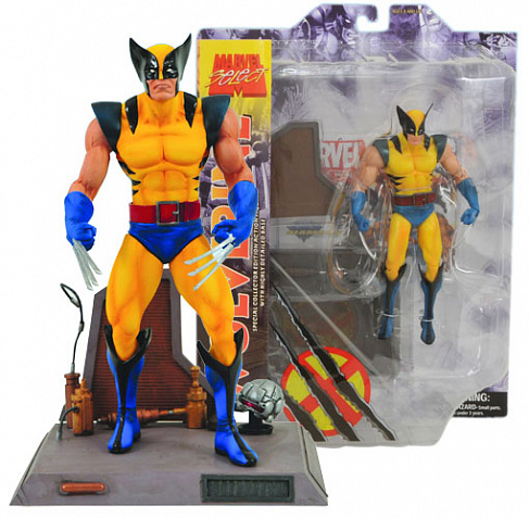 Фигурка Росомахи — Marvel Select X-Men Wolverine