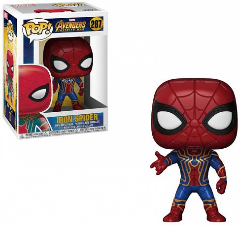 Фигурка Спайдермена — Funko Avengers Infinity War POP! Iron Spider