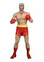 "Фигурка Иван Драго в момент боя ""Рокки 4"" (Rocky Series 2 Ivan Drago (Red Trunks) Rocky 4)"
