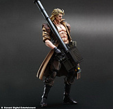 Фигурка Ликвида Снейка — Square Enix Metal Gear Solid Play Arts Kai Liquid Snake