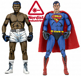Фигурки Супермена и Мохаммеда Али — Neca DC Comics Superman vs Muhammad Ali 2-pack