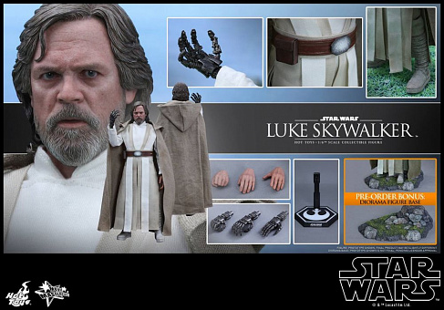Фигурка Люка Скайуокера — Hot Toys Star Wars Episode VII 1/6 Luke Skywalker