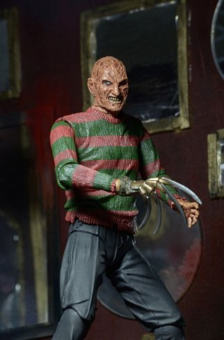 Фигурка Фредди Крюгера — Nightmare on Elm Street 3 Neca Ultimate Freddy