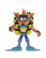Фигурка Крэша — Neca Crash Bandicoot Deluxe Scuba Crash