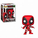 Фигурка Дэдпула — Funko POP! Marvel Holiday Deadpool Candy Canes